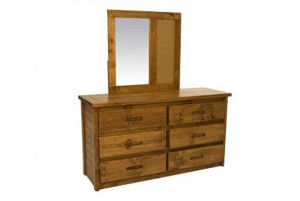 Young Pioneer Dresser & Mirror