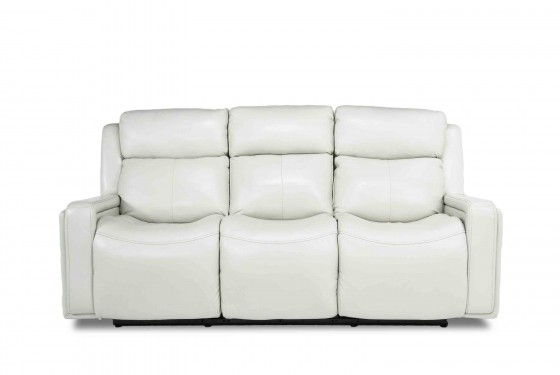 Ice 3-Power Sofa in White Media Image 2