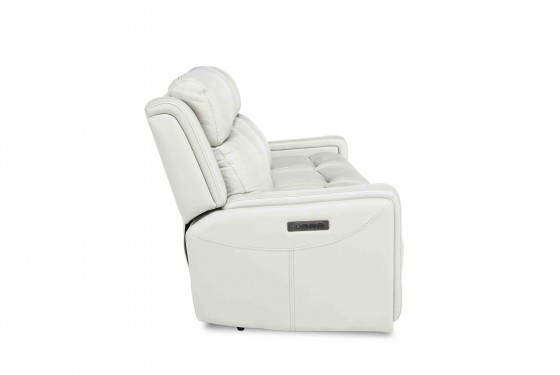 Ice 3-Power Sofa in White Media Image 3