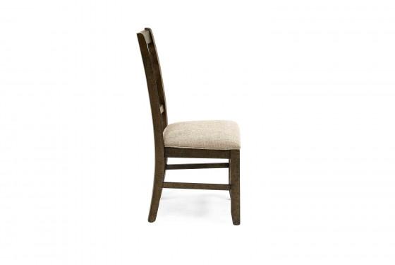 Stone Harp Back Chair in Gray Media Image 3