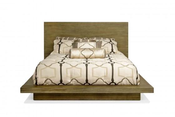 Melbourne Queen Bed in Brown Media Image 2