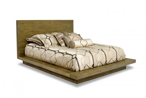 Melbourne Queen Bed in Brown Media Image 1