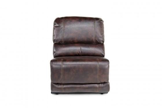 Azul Air Armless Chair in Brown Media Image 1