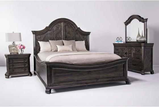 Bellamy Bedroom in Charcoal | Mor Furniture