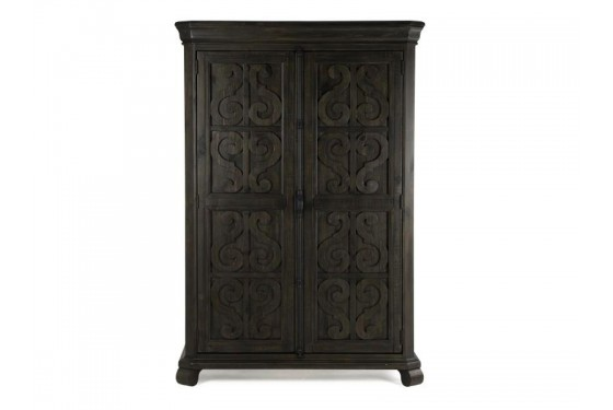Bellamy Armoire in Charcoal Media Image 2