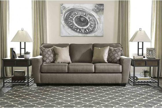 Calicho Queen Sleeper Sofa Media Image 1