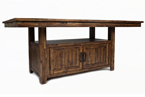Cannon Valley Adjustable Counter-Height Table Media Image 1