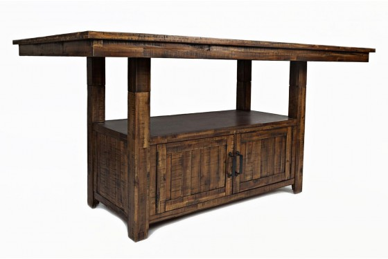 Cannon Valley Adjustable Counter-Height Table Media Image 2