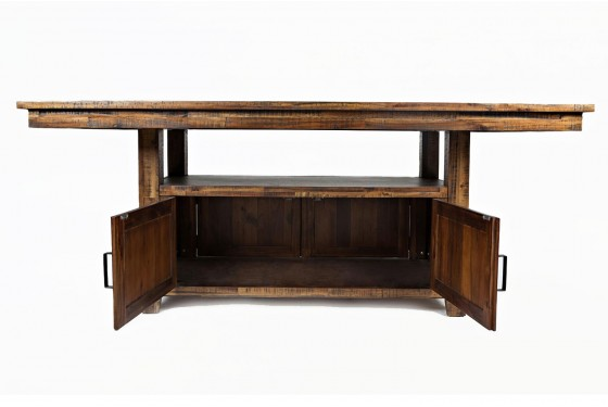 Cannon Valley Adjustable Counter-Height Table Media Image 4