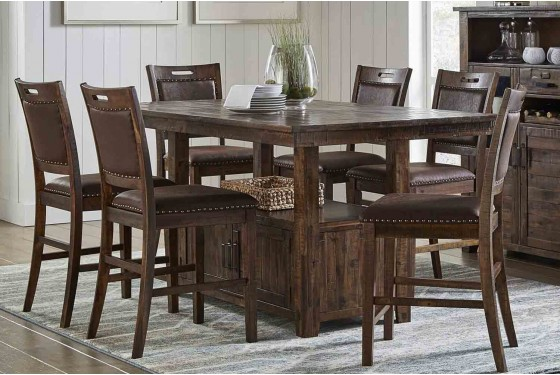 Cannon Valley Adjustable Counter-Height Table Media Image 6