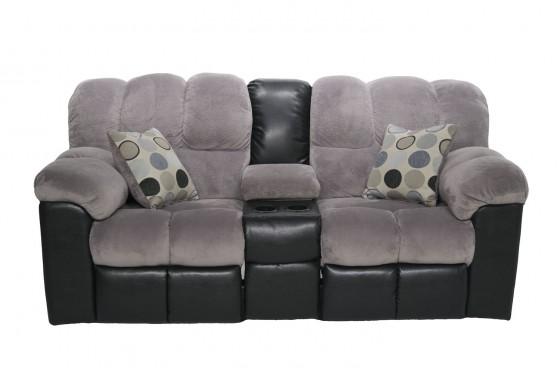 Fountain Gray Living Room Media Image 5