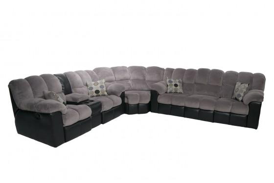 Fountain Gray Living Room Media Image 3