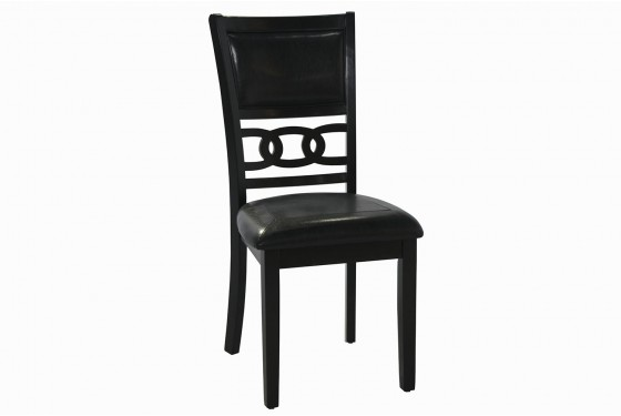 Gia Round Table with 4 Chairs Set Media Image 2