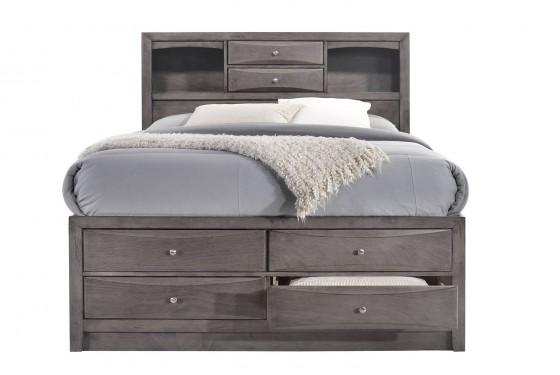 Remi Queen Storage Bed Media Image 4