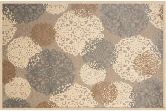 Embellished in Earth Tones Napa 6025 5x8 Rug Media Image 1