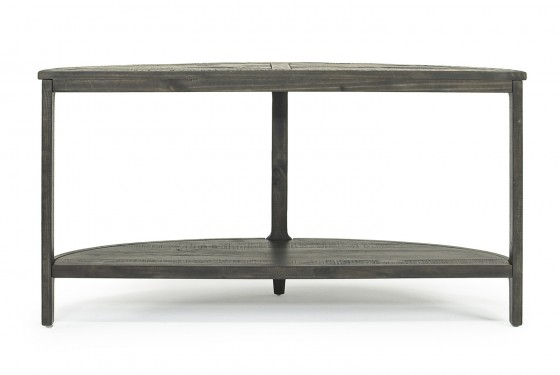 Boswell Sofa Table in Inkwell Media Image 4