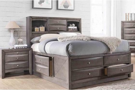 Remi Queen Storage Bed Media Image 2