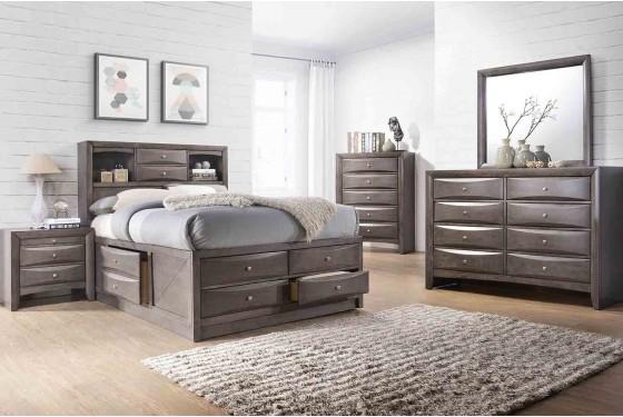 Remi Queen Storage Bed Media Image 1