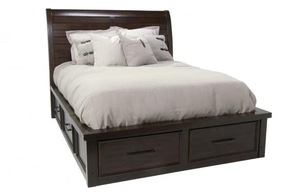 Sonoma King Storage Bed Media Image 1