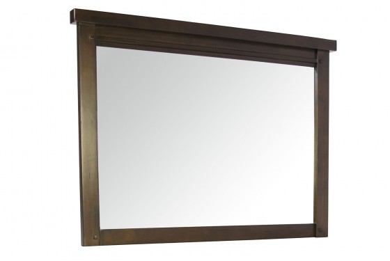 Sonoma Mirror in Brown Media Image 1