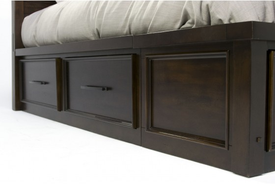 Sonoma King Storage Bed Media Image 3