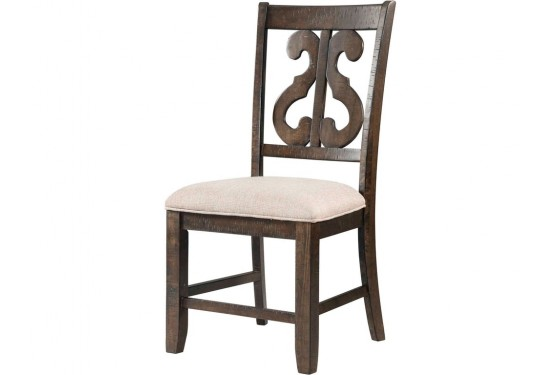 Stone Harp Back Chair Media Image 1