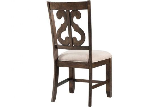 Stone Harp Back Chair Media Image 2