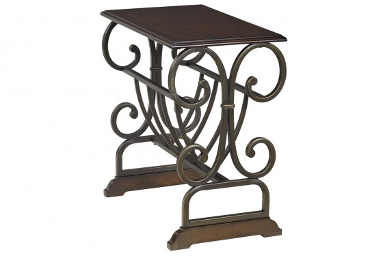 Brittany Chairside End Table Media Image 1