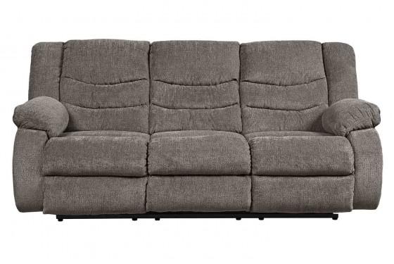 Tulen Slate Reclining Sofa Media Image 1