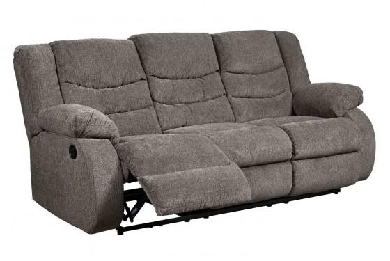 Tulen Slate Reclining Sofa Media Image 2