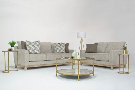 Waikiki Living Room in White  Mor Furniture