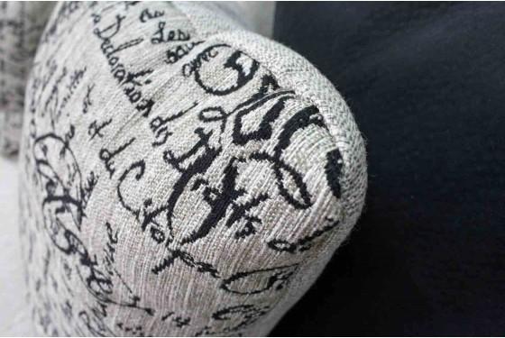 Rachel Omega Mist Sofa Media Image 5