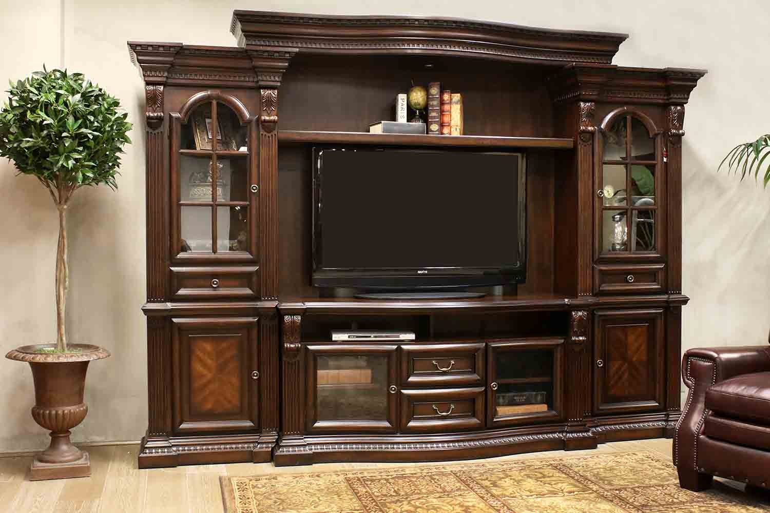 The bella entertainment center mor furniture for less Entertainment living room furniture