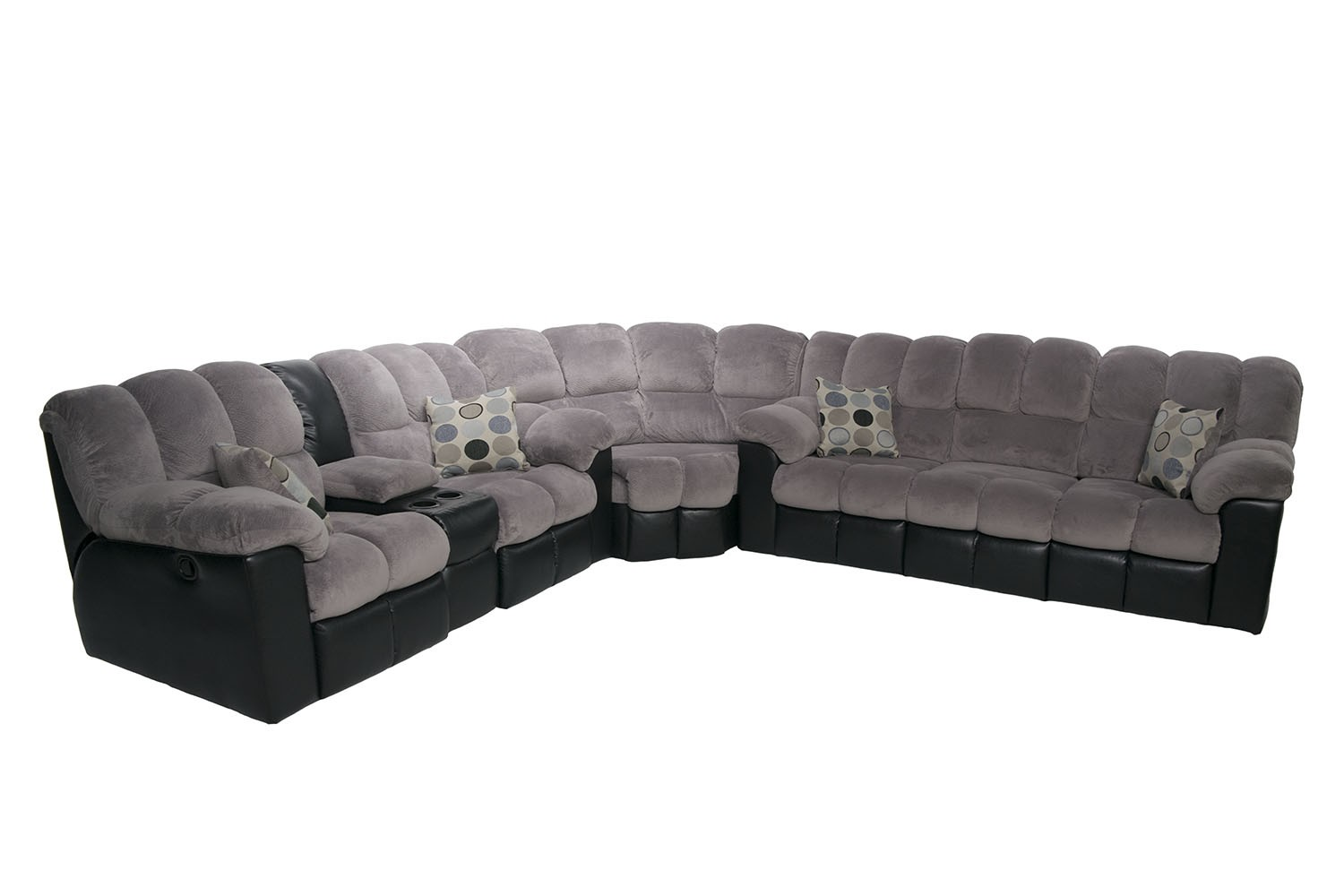 The Fountain Gray Living Room Collection | Mor Furniture for Less
