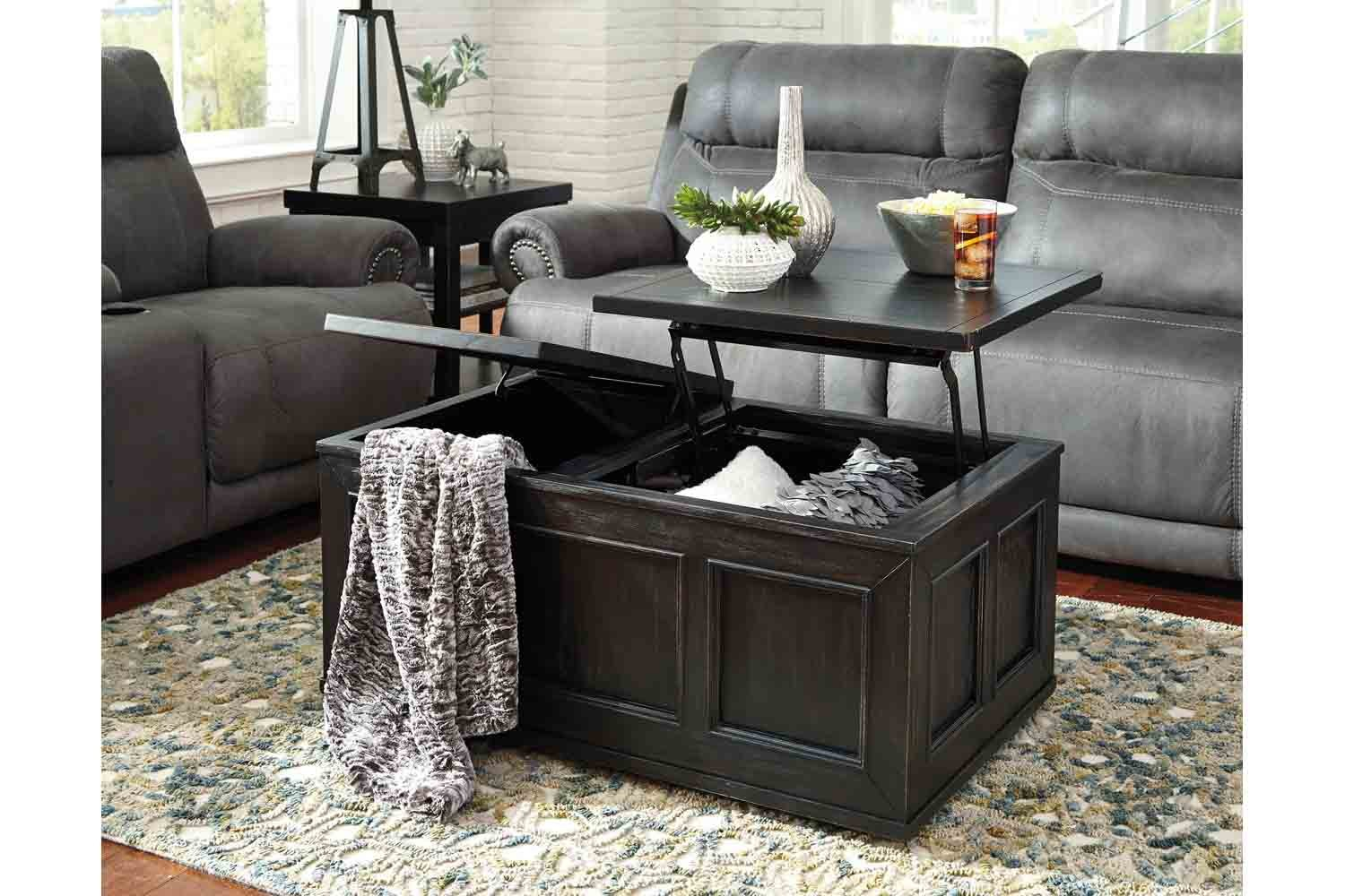 Gavelston Lift Top Coffee Table Mor Furniture For Less