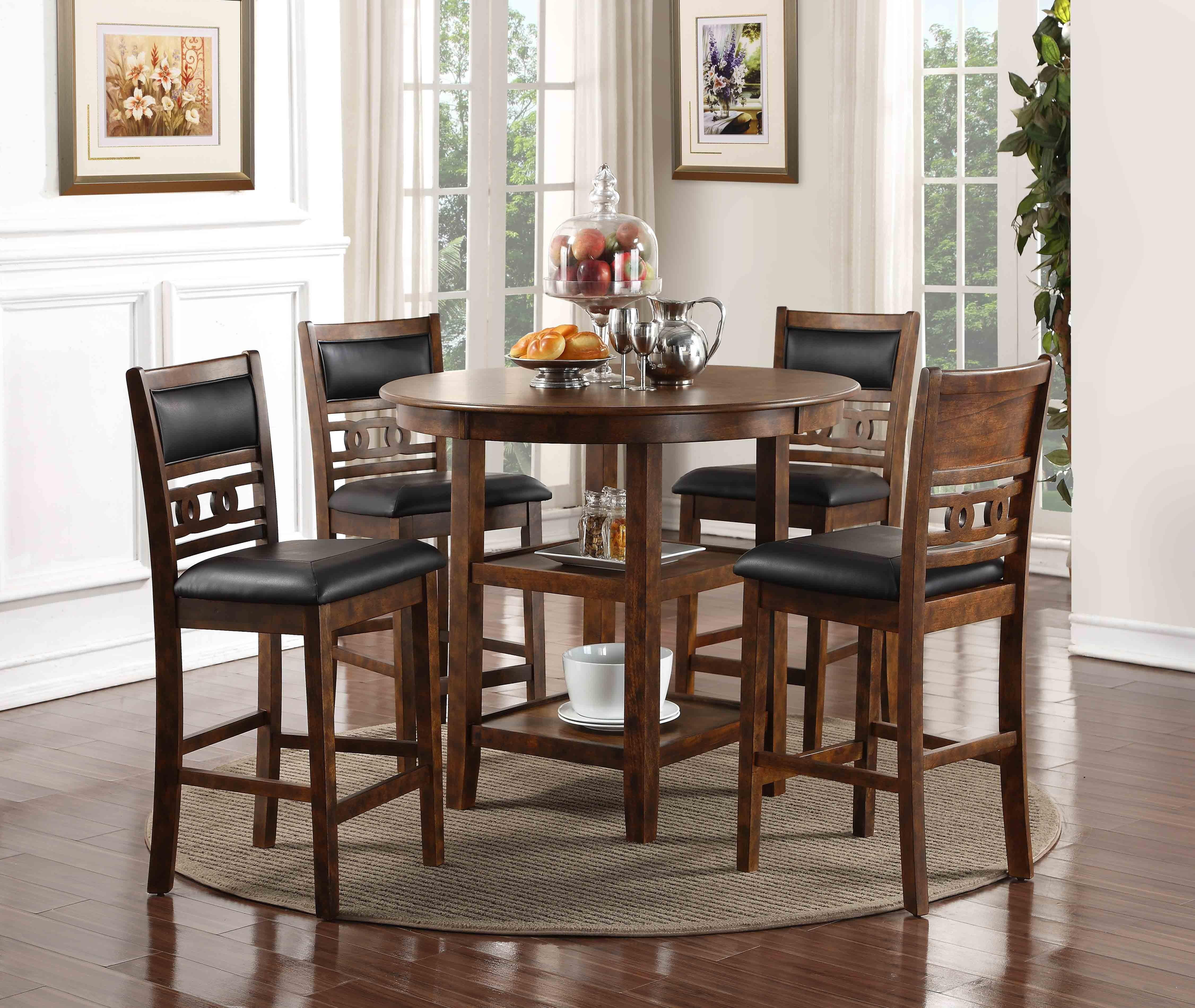 Dining Room Furniture Product: The Gia Counter-Height Dining Room Collection