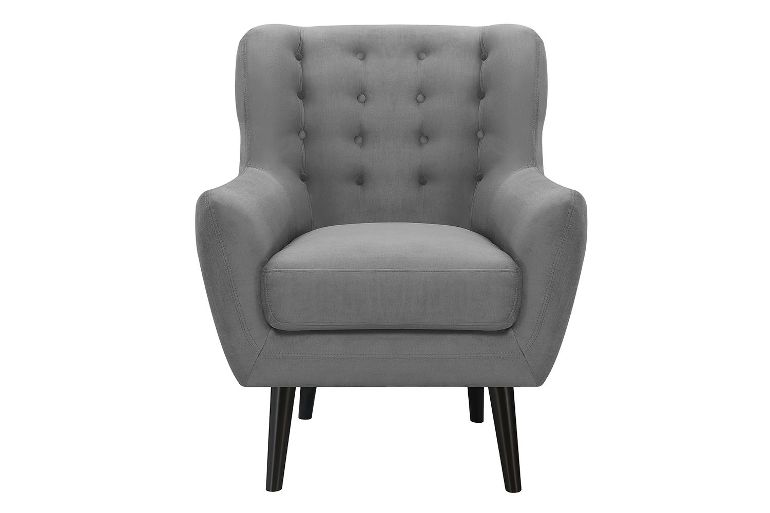 grey accent chair with arms. Lucy Gray Accent Chair Media Image 2 Grey With Arms E
