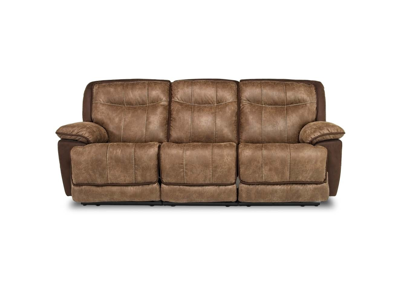 Bubba Triple Reclining Sofa Mor Furniture For Less