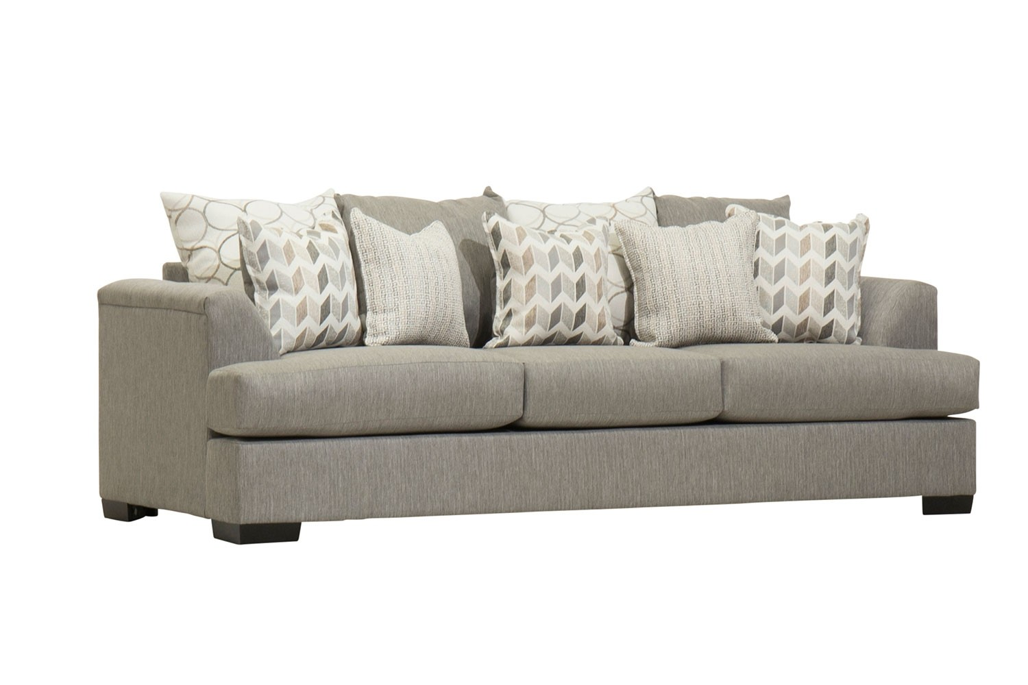Pport Sofa In Stone Media Image 1