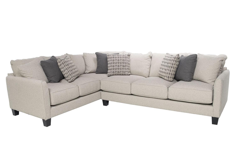 stockholm gel left facing tux sofa sectional  beige mor furniture