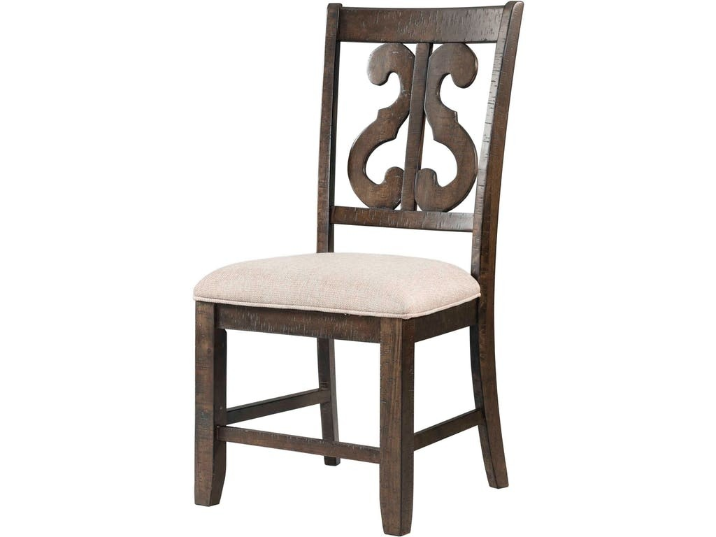 Stone Harp Back Chair Media Image 1 ...