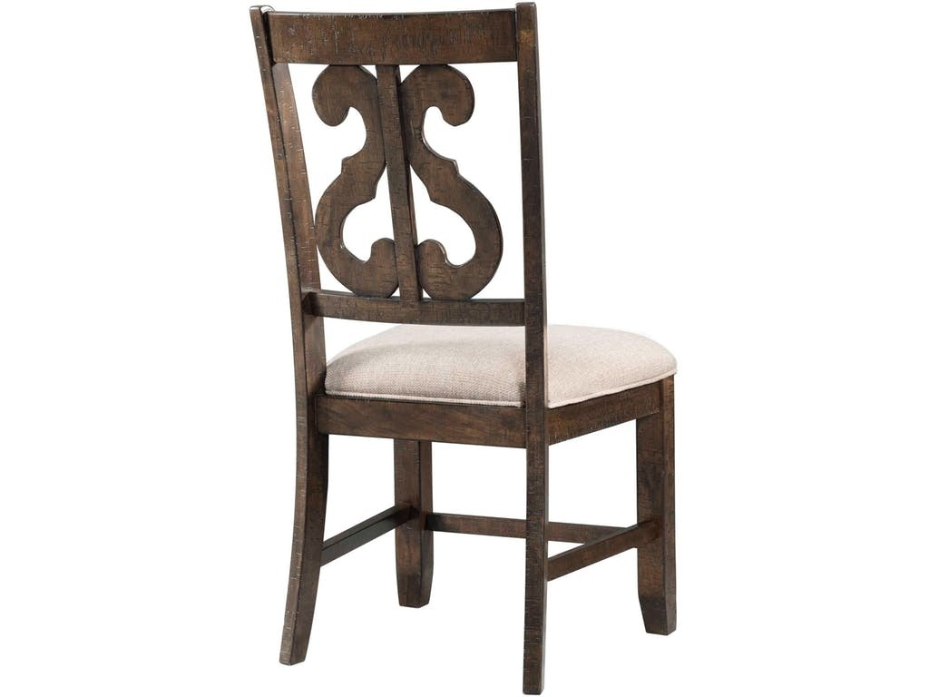 ... Stone Harp Back Chair Media Image 2 ...
