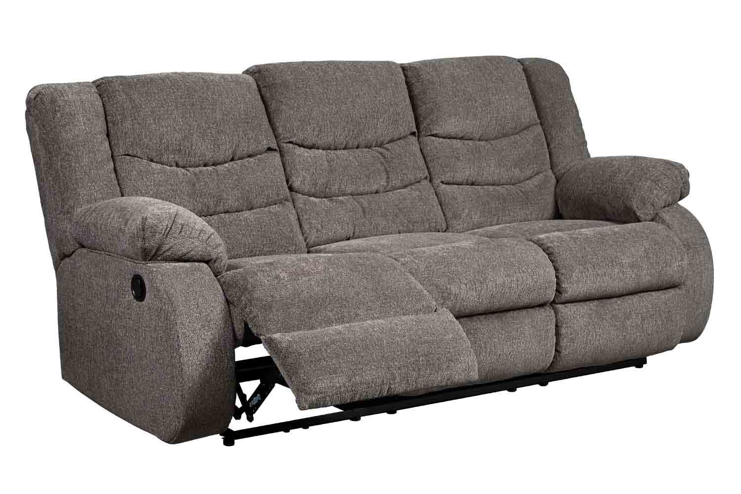 Tulen Slate Reclining Sofa Save Mor Online And In Store