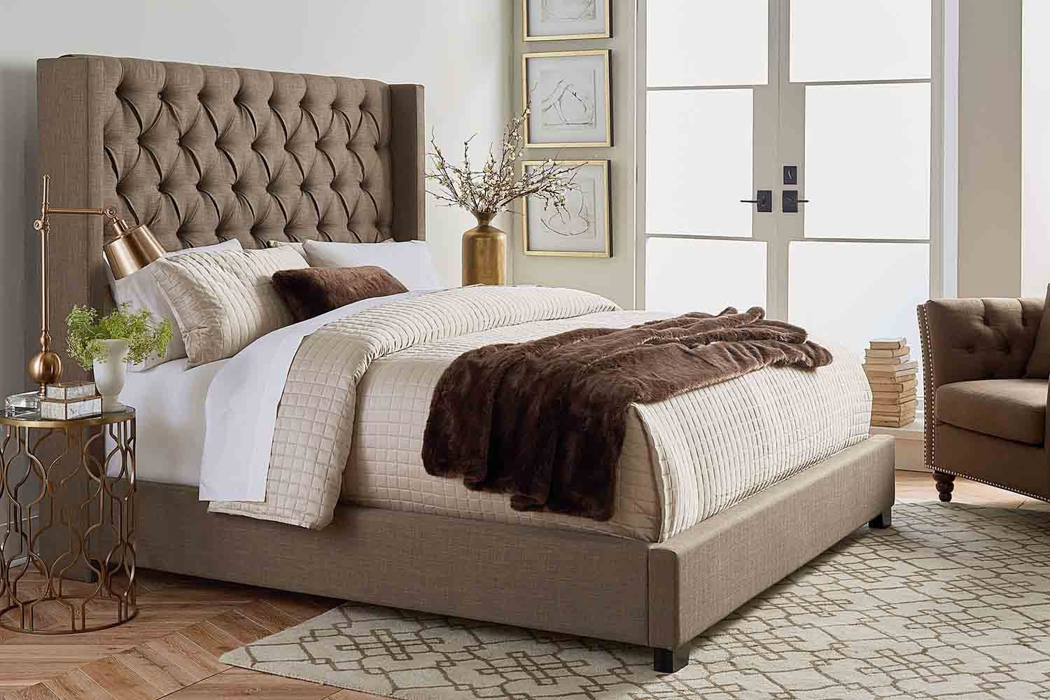 Westerly Queen Bed In Brown Mor Furniture For Less