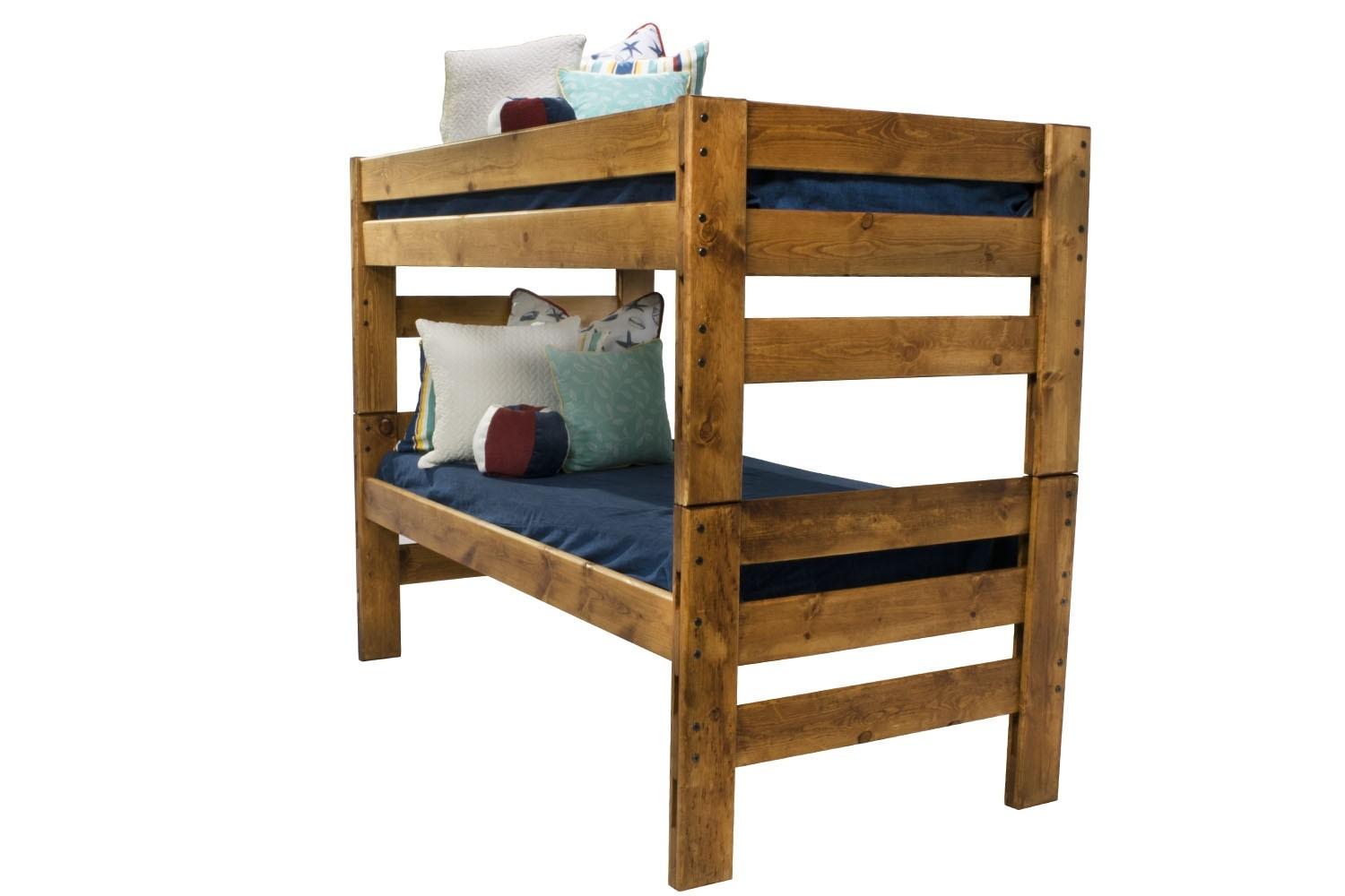 Young Pioneer Cinnamon Twin Twin Bunk Bed A Kids Amp Teens