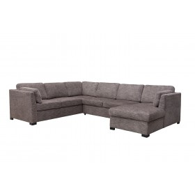 Tremendous Claire 3 Piece Left Facing Chaise Sectional In Gray Mor Gmtry Best Dining Table And Chair Ideas Images Gmtryco