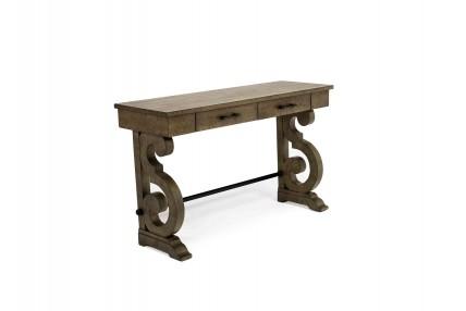 Stone Light Gray Sofa Table