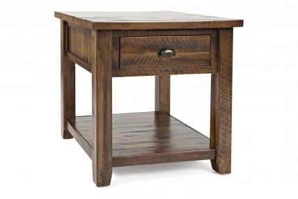Artisan's Oak End Table