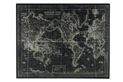 Map Wall Art