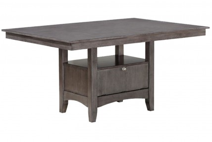 Miami Adjustable Table in Gray